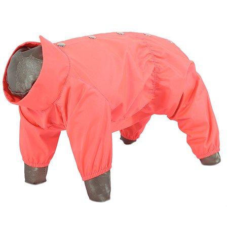 Дождевик для собак YORIKI Розовый неон M 781-22