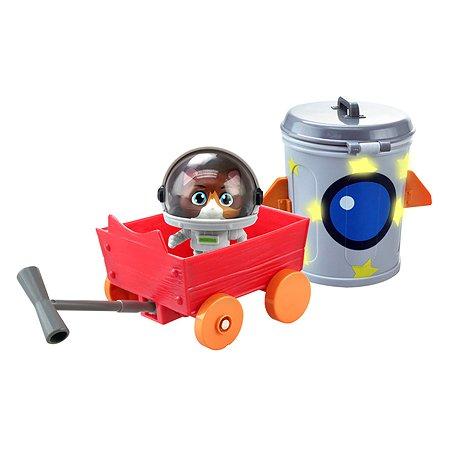 Набор игровой 44 Котенка Космо с транспортным средством 34155