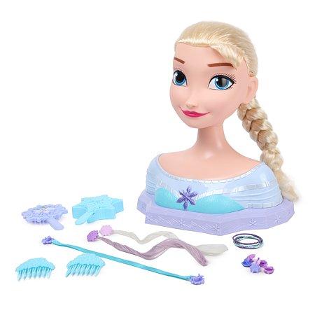 Торс для создания причесок Disney Принцесса Эльза большой 87475