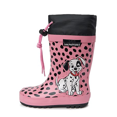 Резиновые сапоги 101 Dalmatians розовые
