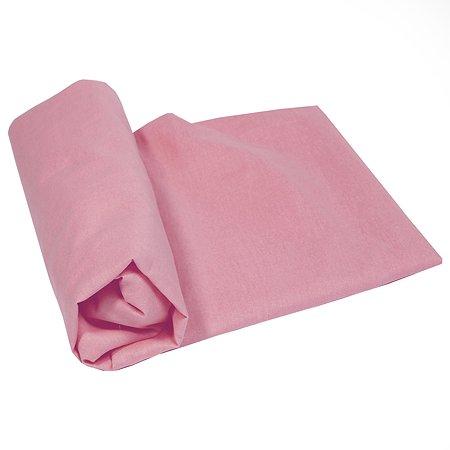 Простыня Babyton с резинкой 90х150 Розовая