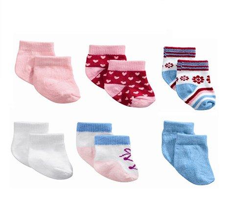 Носочки для куклы Zapf Creation Baby Born 2 пары в ассортименте