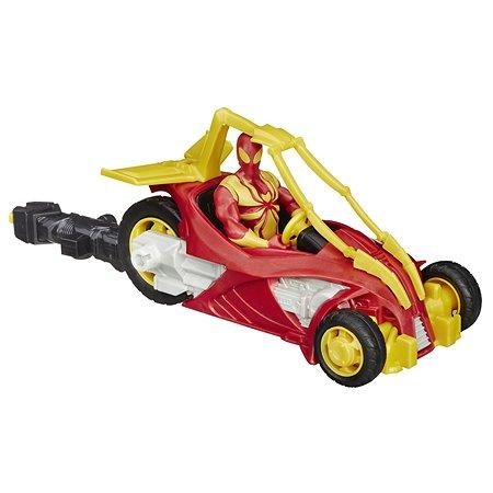 Мотоцикл Hasbro Человека-Паука Iron Man