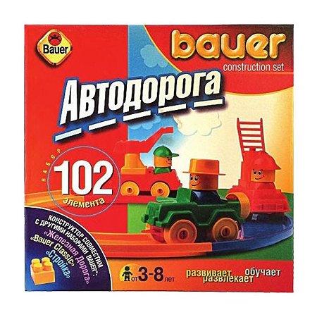 Конструктор Bauer серия Автодорога 102 детали