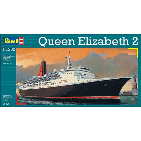 Модель парохода Revell QUEEN ELIZABETH II