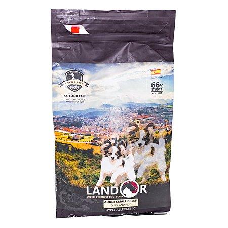 Корм для собак Landor мелких пород утка с рисом 3кг
