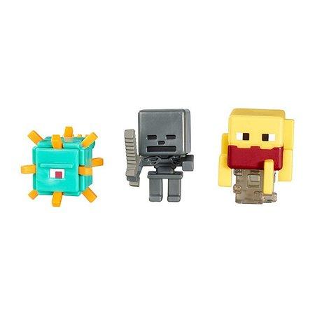 Набор из 3х фигурок Minecraft в ассортименте