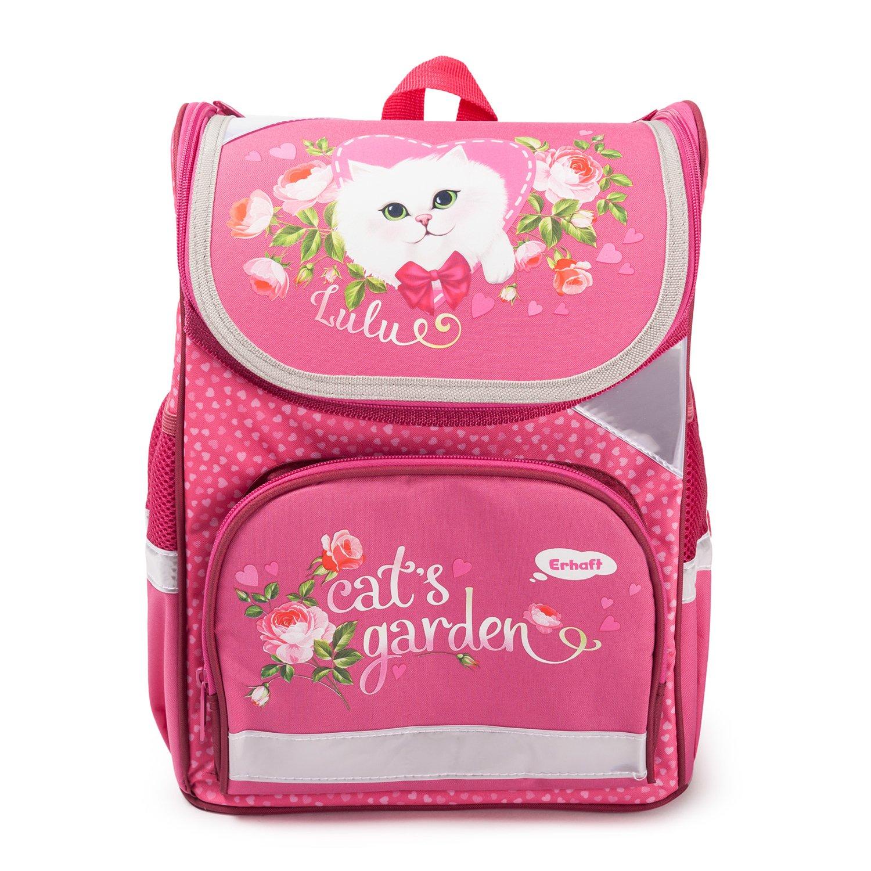 4d552086c62b Ранец школьный Erhaft Кошка - купить в интернет магазине Детский Мир ...