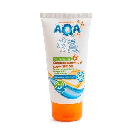Крем солнцезащитный AQA baby SPF 50+ 75мл