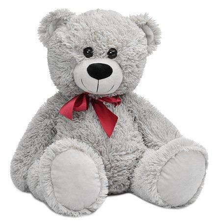 Мягкая игрушка Laffi Медвежонок серый 40см