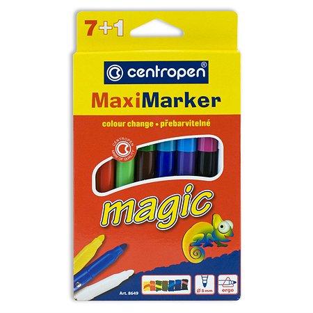 Фломастеры Centropen MAXI MAGIC 7+1