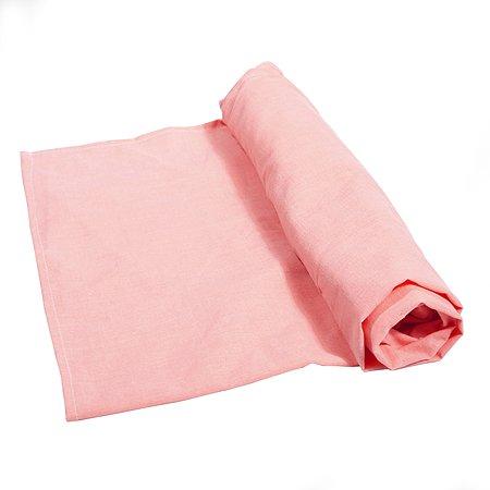 Простынка Babyton детская 90х150 см Розовая