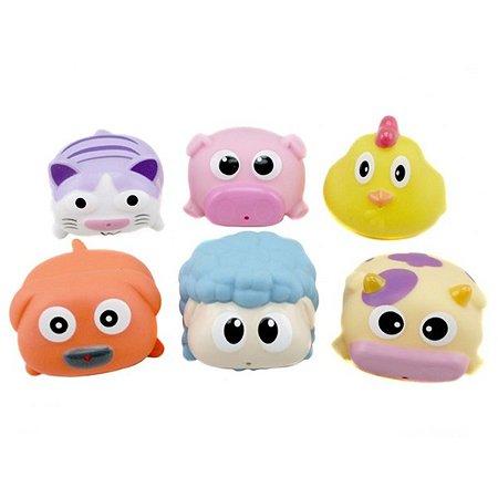 Набор игрушек-брызгалок Курносики для ванны Милашки