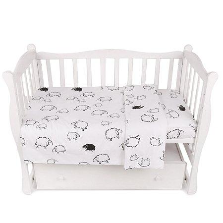 Комплект постельного белья AMARO BABY Fortuna Барашки 3предмета