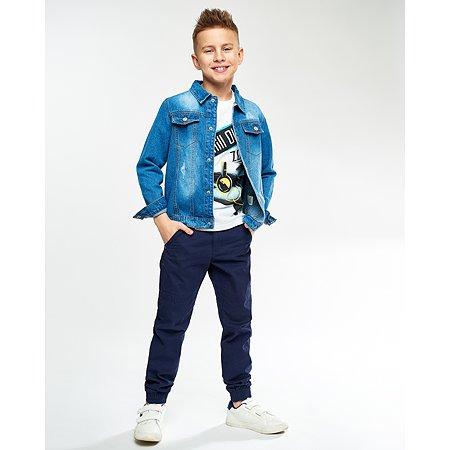 Джинсовая куртка Futurino синяя
