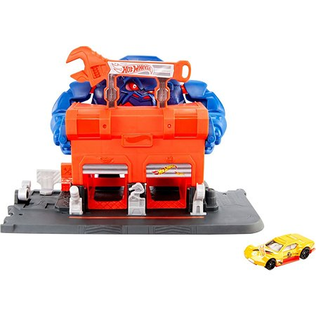 Набор игровой Hot Wheels Сити Атака гориллы GJK89
