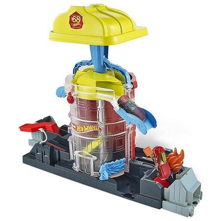 Набор игровой Hot Wheels Сити Пожарная суперстанция GJL06