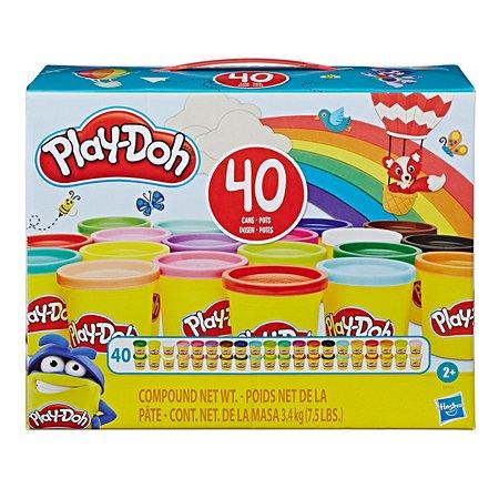 Набор игровой Play-Doh 40банок E94135L0