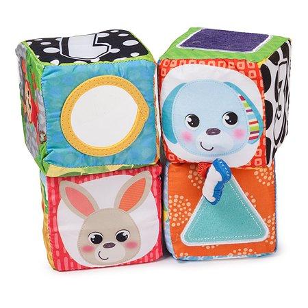 Кубики Baby Go мягкие