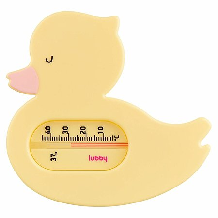 Термометр для ванной Lubby Уточка c 0месяцев 15847