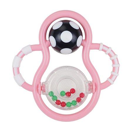 Погремушка-прорезыватель Uviton Balloon Розовая 0141