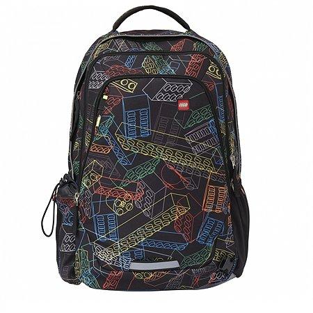 Рюкзак детский LEGO Multicolor/Black