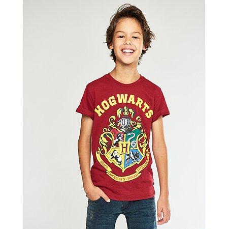 Футболка Harry Potter бордовая