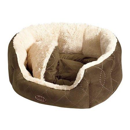 Лежак для животных Nobby Ceno малый Бежевый-Коричневый