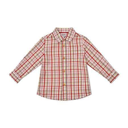 Рубашка BabyGo красная