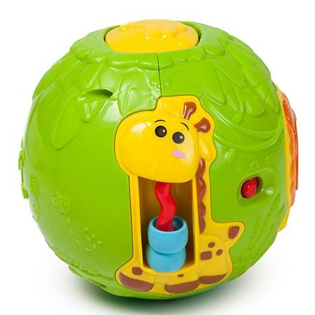 Игровой развивающий шар Baby Go Джунгли