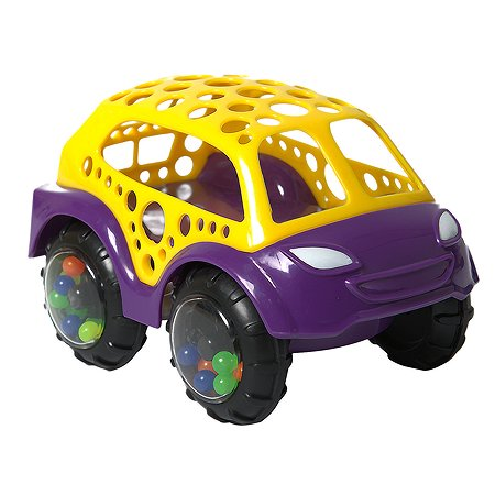 Машина-неразбивайка Yatoya Желто-фиолетовая 12020ЯиГ