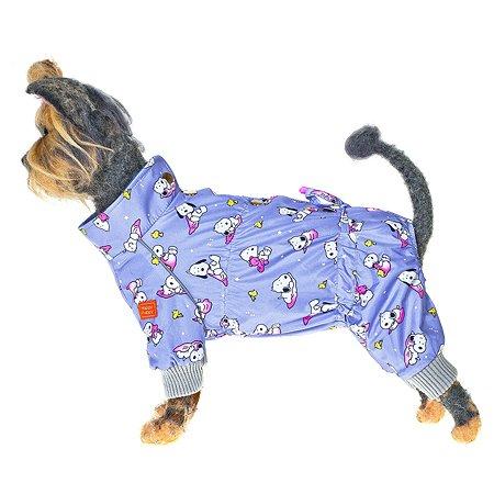 Комбинезон для собак Happy Puppy Снупик 3 Сиреневый SHP-190008-3