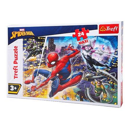 Пазл Trefl Бесстрашный Человек-паук макси 24 элемента 14289