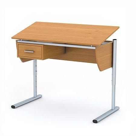 Стол-трансформер Erhaft школьный (бук)