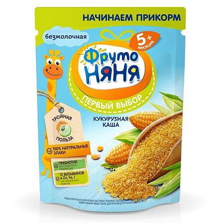 Каша ФрутоНяня безмолочная кукурузная с пребиотиком витаминами и минеральными веществами 180г с 5месяцев