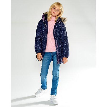 Пальто Lassie тёмно-синее