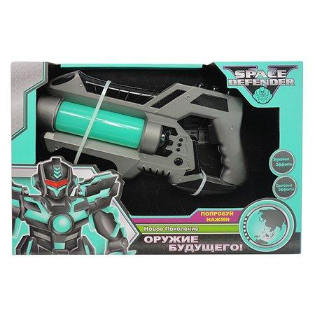 Космический пистолет Space Defender 28  см (музыка,свет)