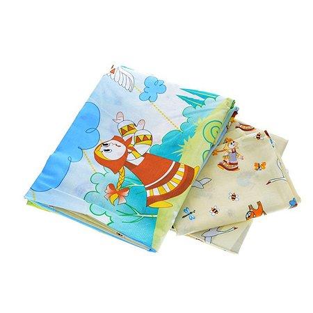 Комплект в кроватку Baby Nice 6 пр.Сказки - Гуси-Лебеди в ассортименте