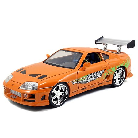 Машинка Fast and Furious Форсаж 1:18 1995 Toyota Supra