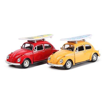 Машинка Mobicaro 1:32 Volkswagen Beetle 1967 в ассортименте 544017SB