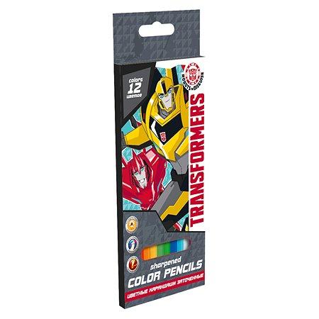 Набор Kinderline цветных карандашей 6цв Transformers