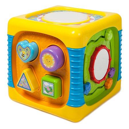 Развивающий кубик Baby Go свет звук