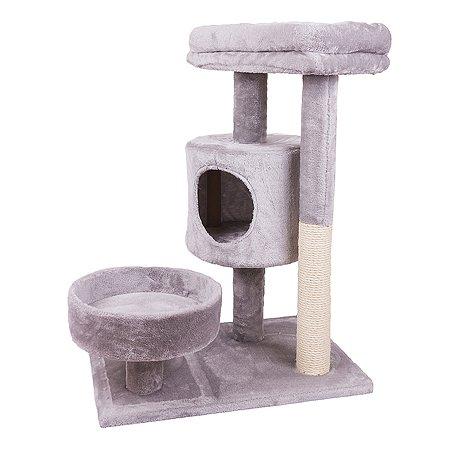 Дом-когтеточка для кошек Не один дома Big House 860019-06GR4