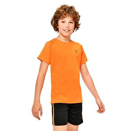 Футболка спортивная Jomoto оранжевая