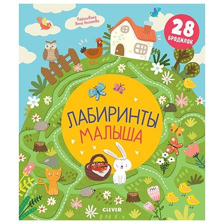 Книга Clever Лабиринты малыша Кошечкина Ж