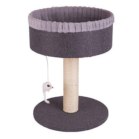 Когтеточка-лежанка для кошек Не один дома MyPlace 860019-06LGRro