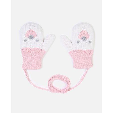Варежки Baby Gо розовые