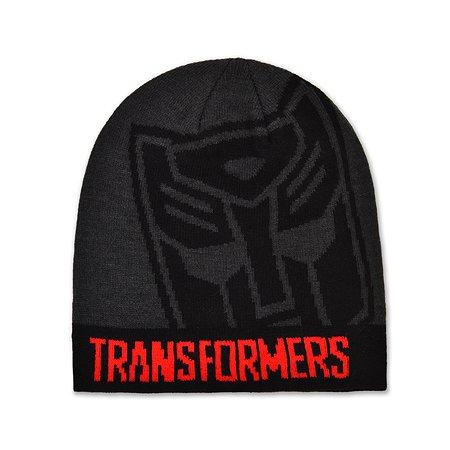 Шапка Transformers серая