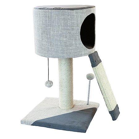 Комплекс игровой для кошек Не один дома Верхолаз 860119-06LGRt