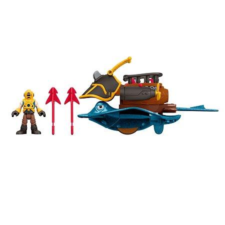 Набор игровой IMAGINEXT Капитан Немо и скат DTH43